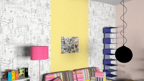 Home office - Eclectic - Office  - by morocsilla
