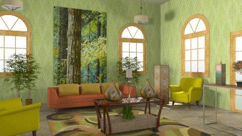 Sunroom - Eclectic - by wiljun