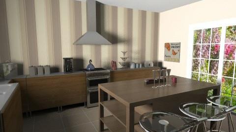 Kitchen - Rustic - Kitchen  - by chenbc