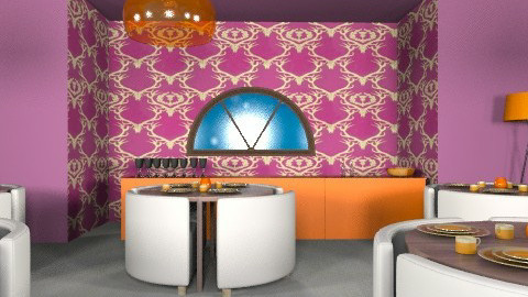 resturant - Minimal - Dining room  - by livliv