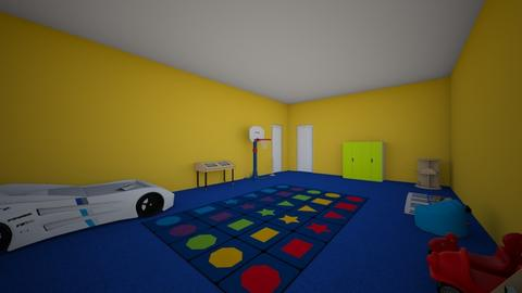 Zachary  - Classic - Kids room - by Hailey6810