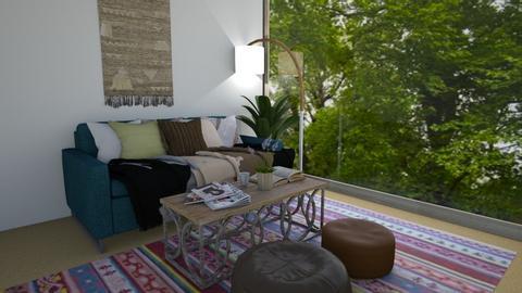 boho living room - by southern gal 13