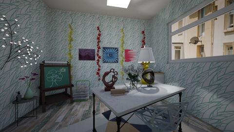 Art_design studio - Rustic - by Pheebs09