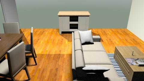 Corey 3 - Vintage - Living room  - by cnorma5