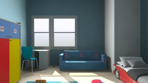 Boy room - Classic - Kids room  - by ursasva