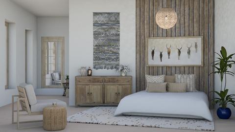 rustic bedroom - Bedroom  - by jbutler314159