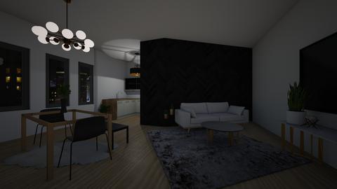 glam living space - Living room  - by joetee