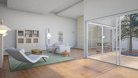 Open plan - Minimal - Living room  - by augustmoon
