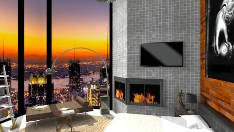 Bedroom Sunset view  - Modern - Bedroom - by sahfs