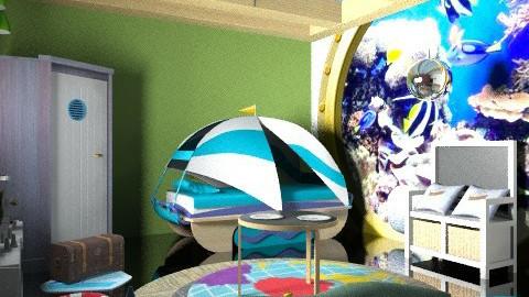 little captain jacks room - Modern - Kids room  - by decorj