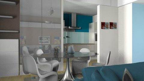 dona2 - Glamour - Living room  - by gloria marietti