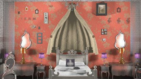 Le Fabuleux Destin d'Irem - Bedroom - by turquoiseshell