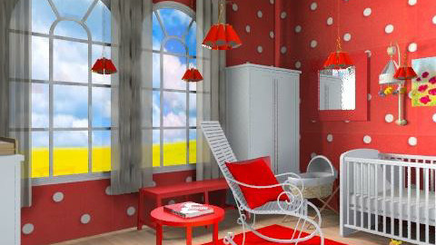 bimbi1 - Eclectic - Kids room - by catcarla