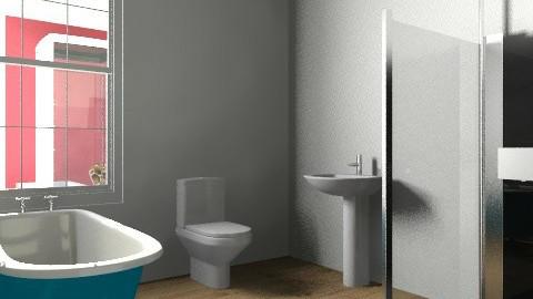 Julie Newman - Vintage - Bathroom  - by Juleye
