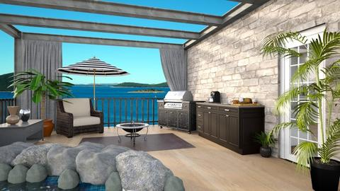 rooftop terrace - by I designs