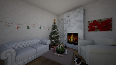 Christmas Room Contest - by BaconDoghaha