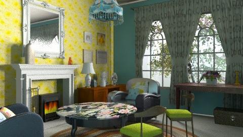 Step back - Vintage - Living room - by mrschicken