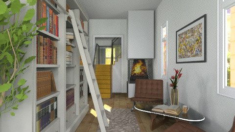 Cozy Longroom Library - Classic - by cheyjordan