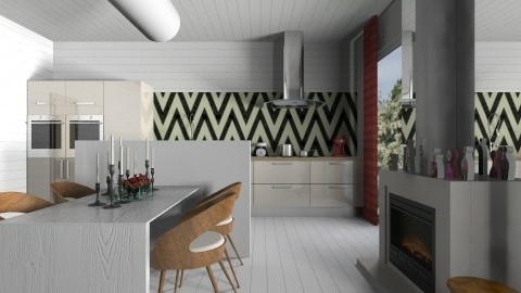 Ursula Scandilike Kitchen - Minimal - Kitchen - by 3rdfloor