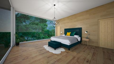 green - Modern - Bedroom  - by madaline