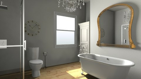 Bathroom - Vintage - Bathroom  - by saelj