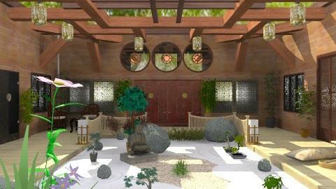 Le Pavillon - Rustic - Garden  - by Bibiche