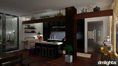 001 Eclectic - Kitchen  - by DMLights-user-997247
