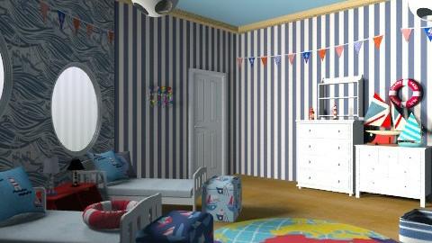Sail Away - Modern - Kids room  - by chloedaniella