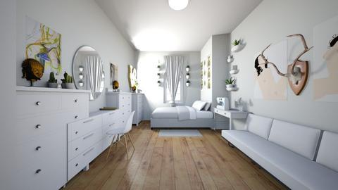 bedroom studio - Bedroom - by bittersweetfree