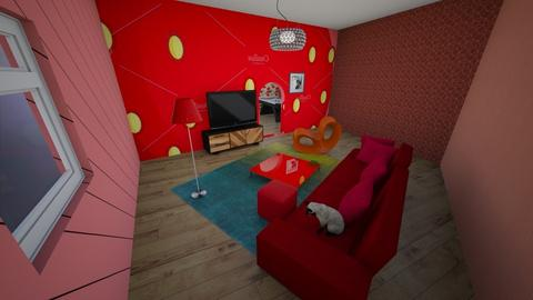 Strawberry room - Living room  - by samconn