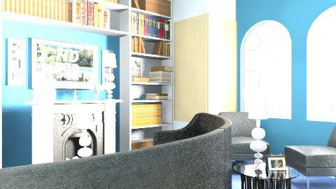chic living area - Retro - Living room  - by twindeco
