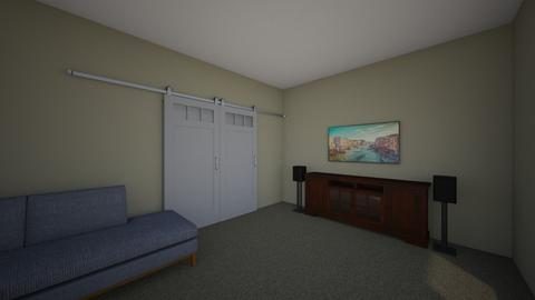 Media Room 2 - Classic - Living room - by sxwray