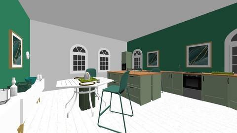 moderno sinples - Modern - Kitchen  - by talllita