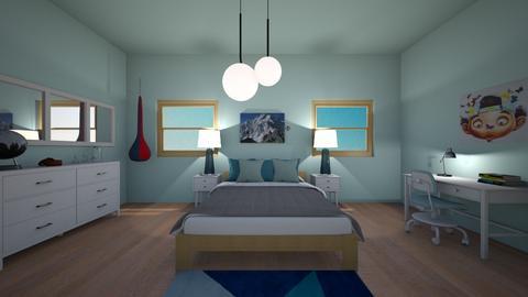 teenager bedroom  - Bedroom  - by planner05