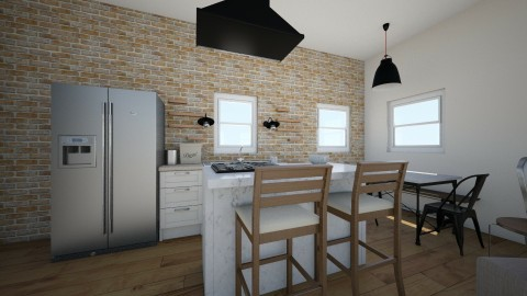 Tiny House kitchen - Eclectic - Kitchen  - by Thrive Again Design