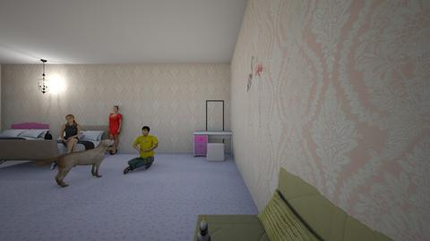 kids - Bedroom  - by valetotito