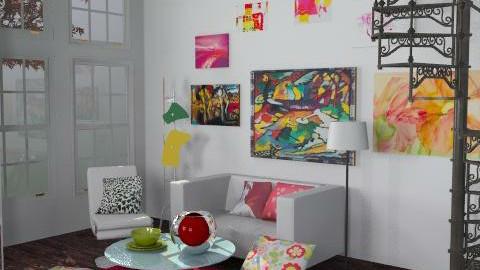 Serapheena - Eclectic - Living room  - by SariJo