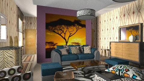 safari - Eclectic - Living room  - by chania