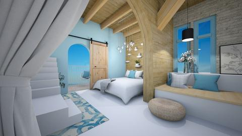 Modern greek bedroom - Bedroom  - by Victoria_happy2021