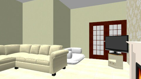 Front Room: Downe - Vintage - Living room  - by Amy B Durham
