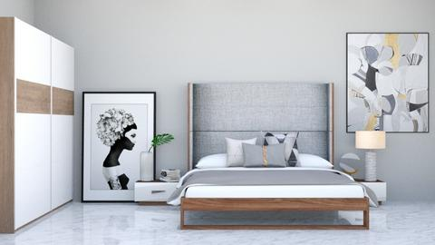 Space Grey - Bedroom  - by Mint_2005