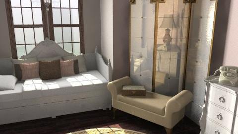 Vintage Girl - Vintage - Bedroom  - by Sara D