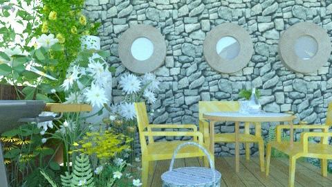 mellow yellow - Modern - Garden  - by ovchicha