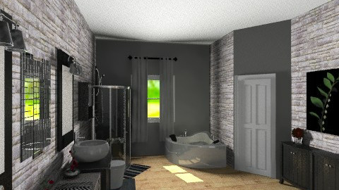 master bath - Bathroom - by Lizette Najera