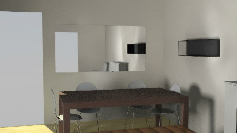 salle manger V4 - Dining Room  - by johanne