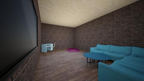 Symmetrical - Living room  - by id12375