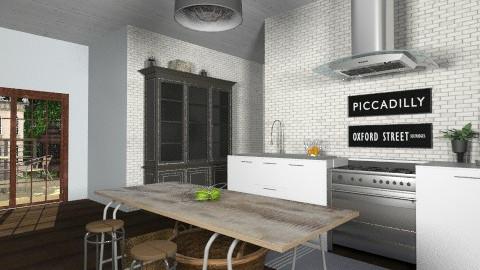 Brooklyn Kitchen - Rustic - Kitchen  - by emma12