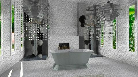 grande bathroom - Eclectic - Bathroom  - by anetzham