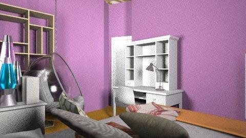 Ultimate Dream Room_70s - Retro - Bedroom  - by mortizstiefel