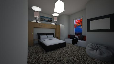 Chilled Bedroom - Modern - Bedroom  - by riordan simpson